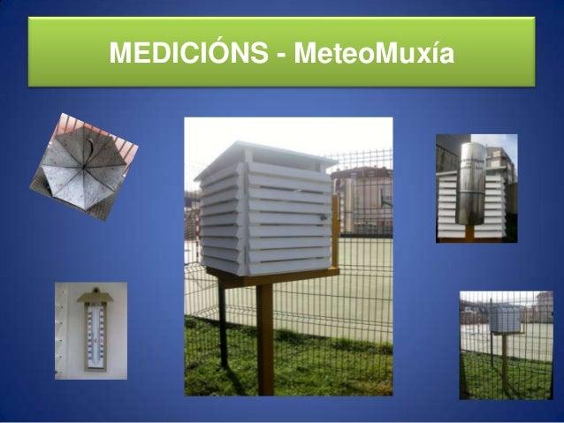 MEDICIÓNS - MeteoMuxía