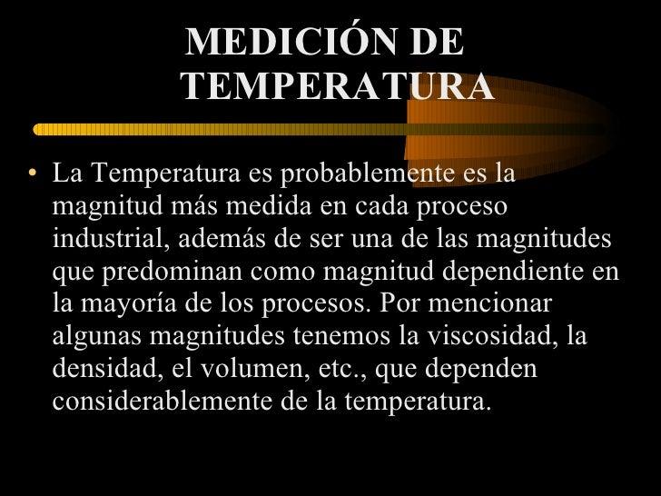 Medicion de temperaturas