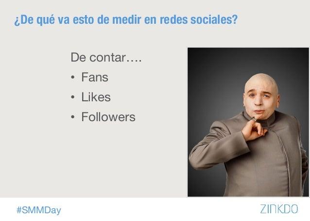 ¿Qué medir en redes sociales?  Slide 2