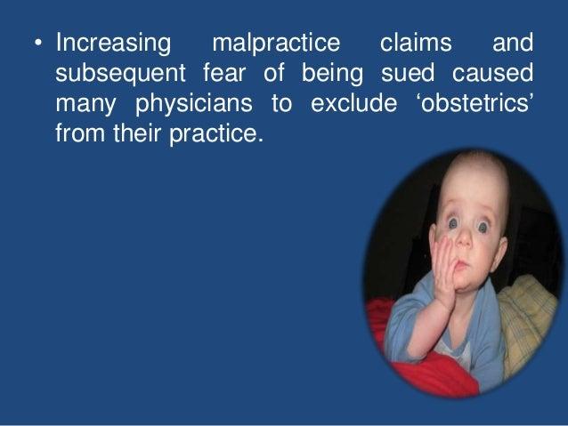 Medicolegal aspects in obstetrics