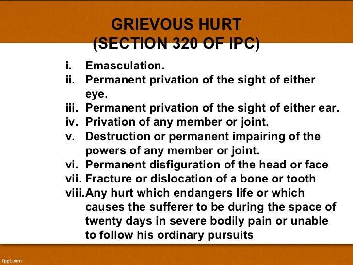 section 320 of ipc