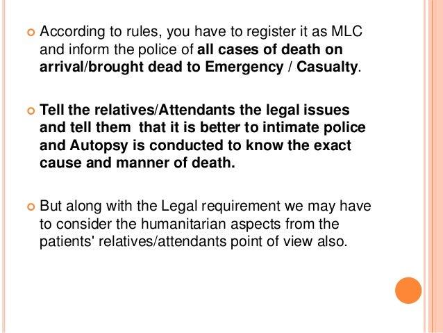 Medico legal issues humanitarian grounds etc 11 altavistaventures Images
