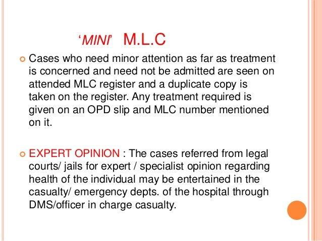 Medico legal issues 39 mini mlc altavistaventures Images
