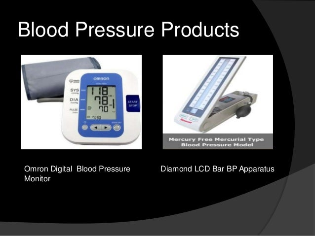 Blood Pressure Products  Omron Digital Blood Pressure Monitor  Diamond LCD Bar BP Apparatus