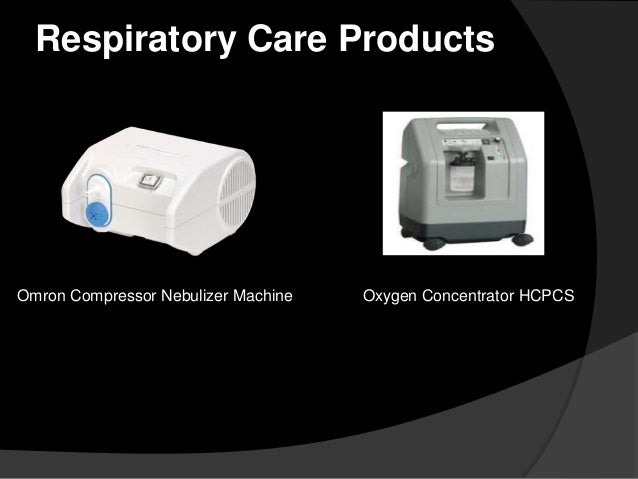 Respiratory Care Products  Omron Compressor Nebulizer Machine  Oxygen Concentrator HCPCS