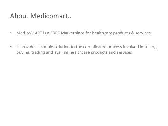 MedicoMART - Buy and Sell Used Medical Equipment Slide 2