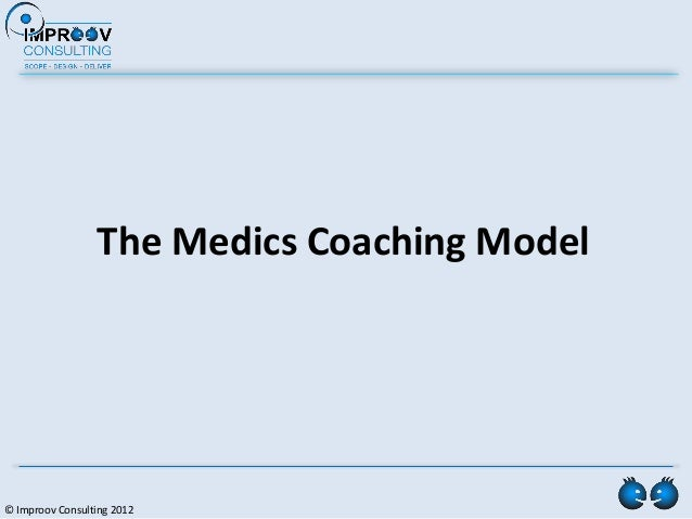 The Medics Coaching Model© Improov Consulting 2012