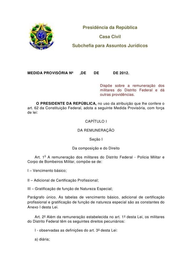 Presidência da República                                               Casa Civil                           Subchefia para...