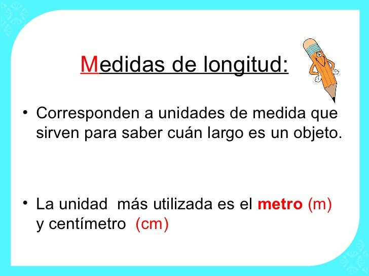 Medidas de longitud matem tica for Definicion de cuarto