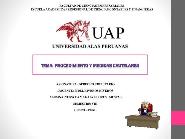 FACULTAD DE CIENCIAS EMPRESARIALES  ESCUELA ACADEMICA PROFESIONAL DE CIENCIAS CONTABLES Y FINANCIERAS  ASIGNATURA: DERECHO...