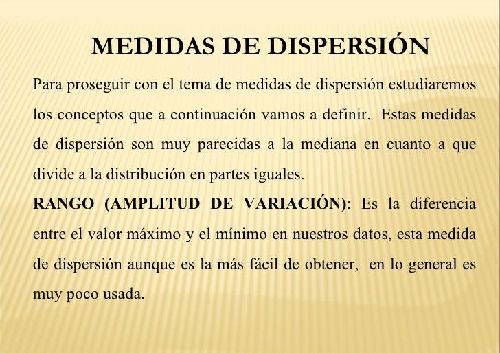 Medidas de dispersion Slide 3