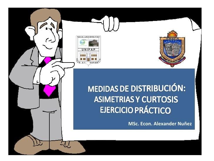 MSc. Econ. Alexander Nuñez