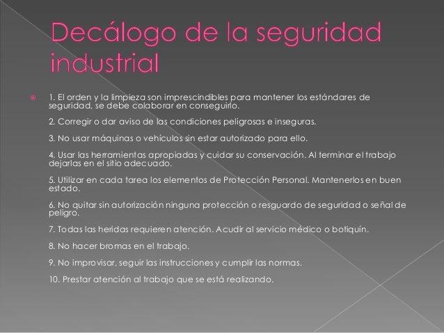 Medidas de serguridad e higiene industrial luigui Slide 3