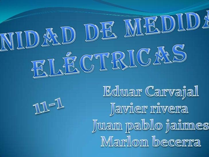 Las unidades dela electricidad definidas porel Sistema Internacional para lasmagnitudes relacionadas por la leyde Ohm son:...