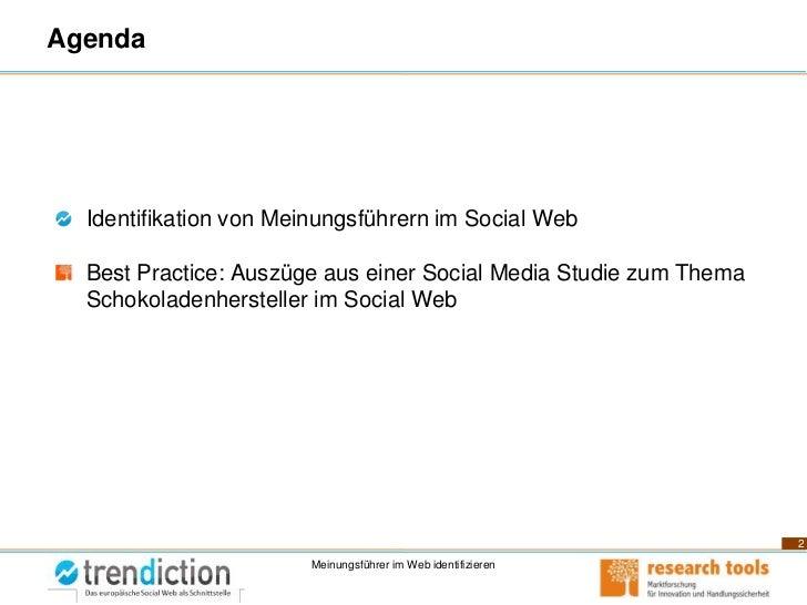 Meinungsführer im Social Web Erkennen - Medienbeobachtungskongress 2011 Slide 2