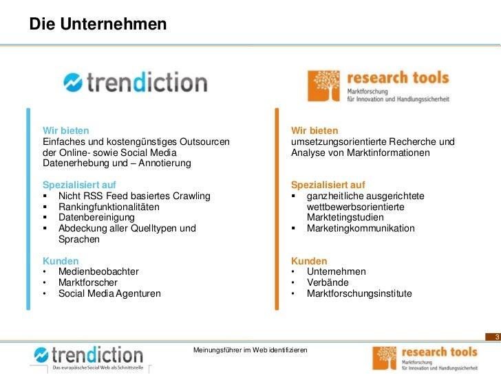 Meinungsführer im Social Web Erkennen - Medienbeobachtungskongress 2011 Slide 3