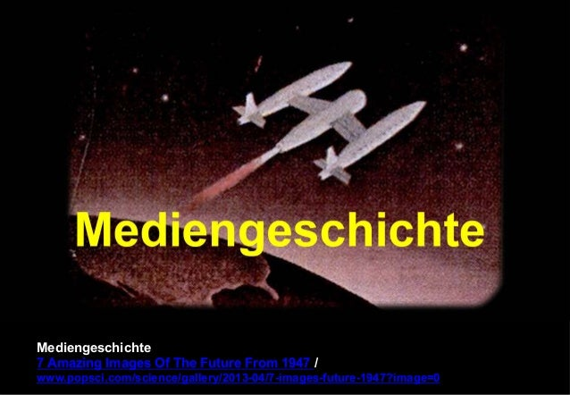 Mediengeschichte  7 Amazing Images Of The Future From 1947 /  www.popsci.com/science/gallery/2013-04/7-images-future-1947?...