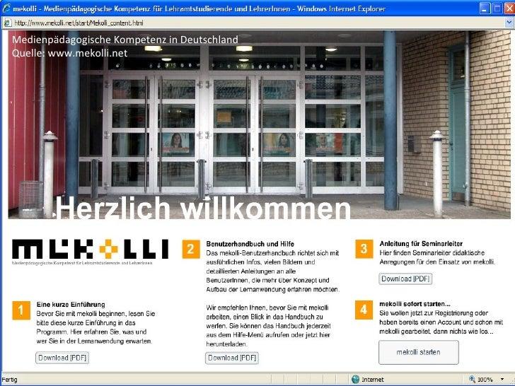 Medienpädagogische Kompetenz in Deutschland Quelle: www.mekolli.net