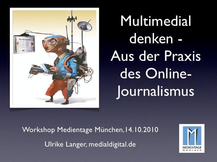 Multimedial                                denken -                             Aus der Praxis                            ...