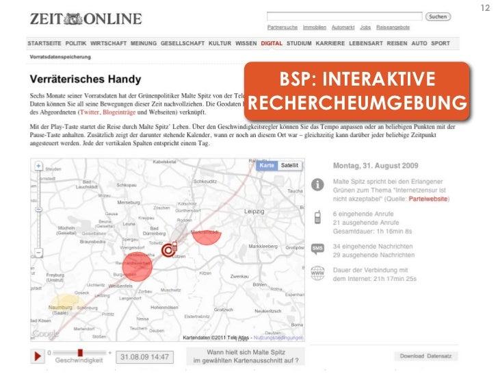 12   BSP: INTERAKTIVERECHERCHEUMGEBUNG