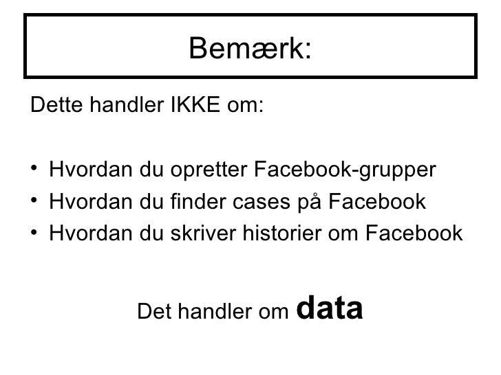 Medier og Facebook Connect Slide 3