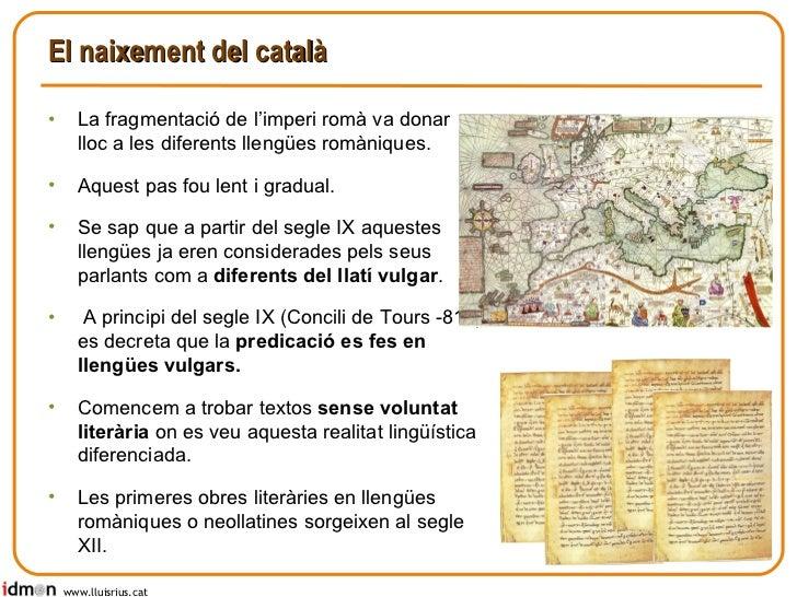 Literatura catalana medieval Slide 3