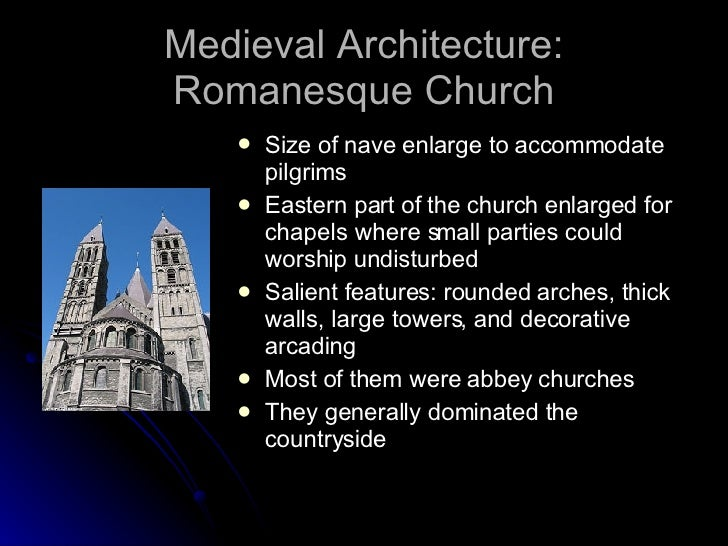 features of medieval period