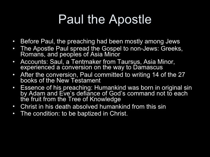 St Paul Biography