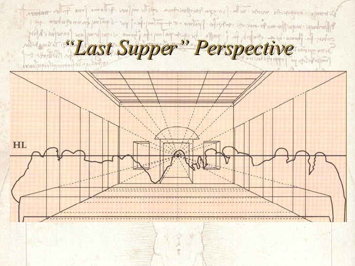 """""""Last Supper"""" Perspective"""