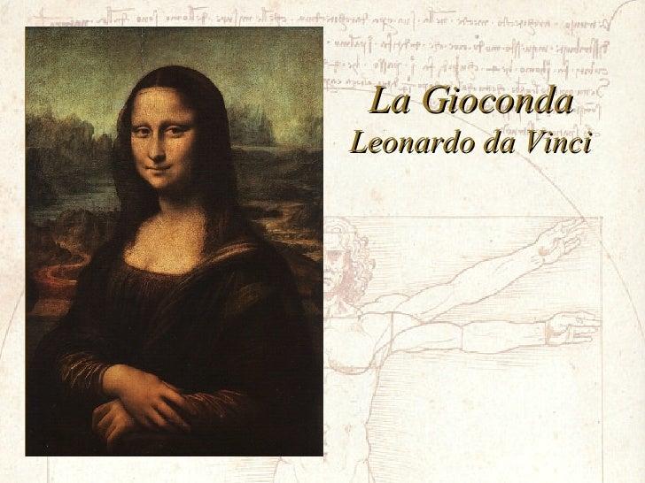 La Gioconda Leonardo da Vinci