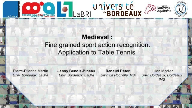 MediaEval 2018: Fine grained sport action recognition