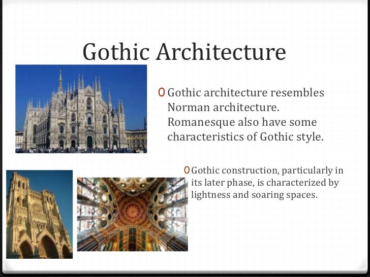 Gothic Architecture Features: Medieval Architecture Smith & O'hara