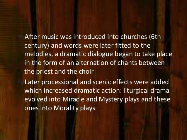 the difference between miracle plays mystery plays and morality plays Medieval drama—mummings, mystery plays, miracle plays and morality plays  editions of the york cycle, and proceed to ponder the differences between.