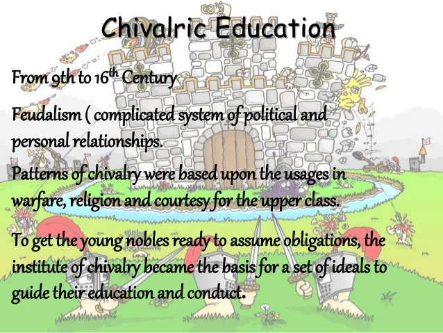 an examination of the ideals of chivalry 2018-2-19 more than one critical eyebrow might be raised at the prospect of yet another examination of  his the acts of king arthur and  arthurian ideals of chivalry.
