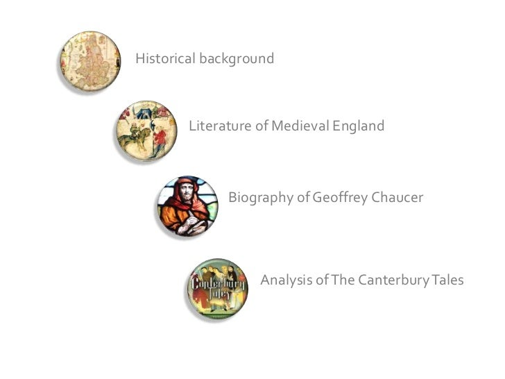 An analysis of the canterbury tales by geoffrey chaucer
