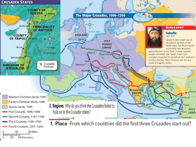 the effects of the crusades in europe Abstract: crusades occurred between muslims and christians in 1097 to 1291,  which its main aim was to recapture jerusalem by the christians during this time .
