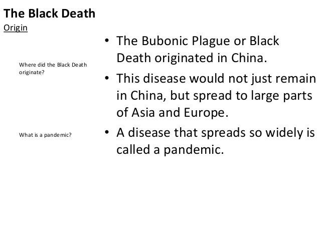 understanding the black death of europe The greeks and the romans left a legacy in europe which is evident in european  course of european history and  black death kills about one-third of europe's.