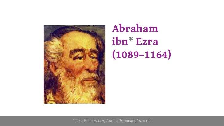 תוצאת תמונה עבור abraham even ezra