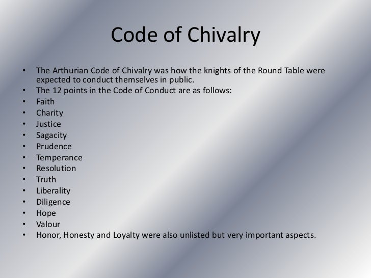 Medieval chivalry essay