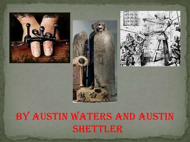 BY AUSTIN WATERS AND AUSTIN SHETTLER<br />