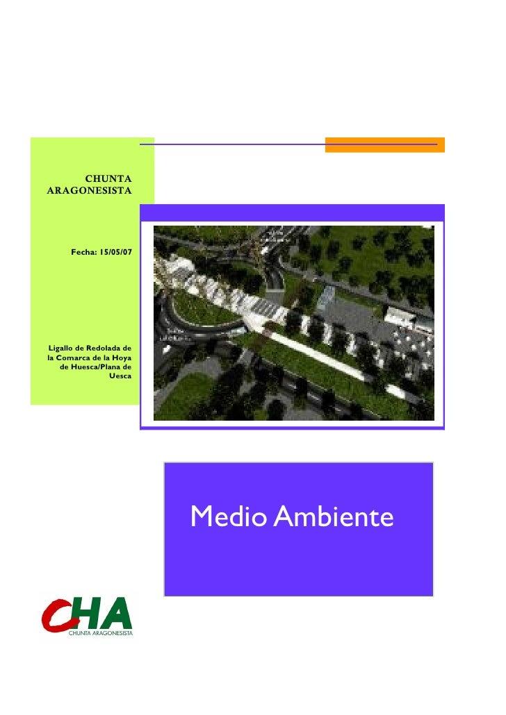 CHUNTAARAGONESISTA                         Títul o del documento      Fecha: 15/05/07Ligallo de Redolada dela Comarca de l...