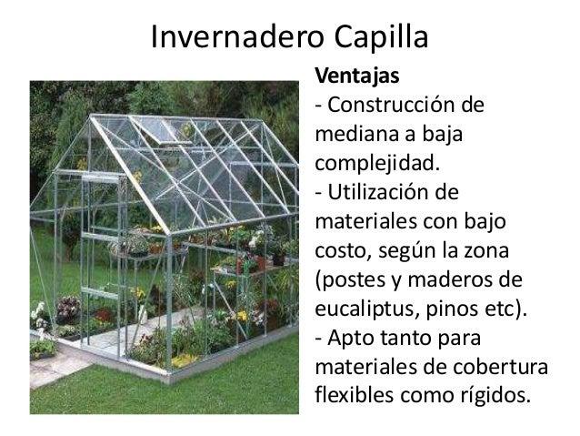 Vivero medio ambiente for Materiales para la construccion de un vivero