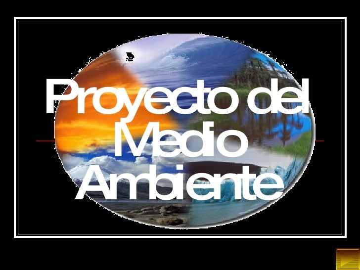 Proyecto del Medio Ambiente