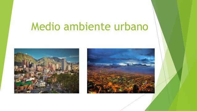 medio ambiente urbano