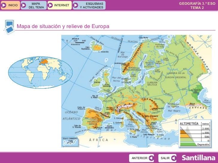 Mediofisico Europa Espana Santillana