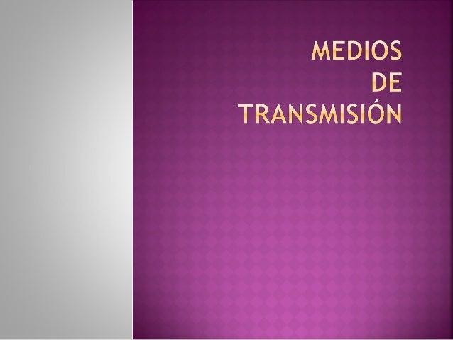 MEDIOS DE TRANSMISION GUIADOS La comunicación se realiza a través de líneas electromagnéticas Los medios guiados son: Par ...