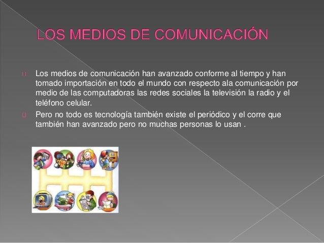 Lo aprendido Medios de comunicación  Slide 2