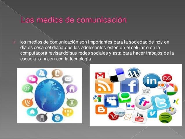 Lo aprendido Medios de comunicación  Slide 3