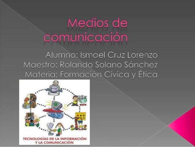  La comunicación es muy variable dependiendo de como lo quieras hacer por ejemplo la verbal, escrita o por medio del inte...