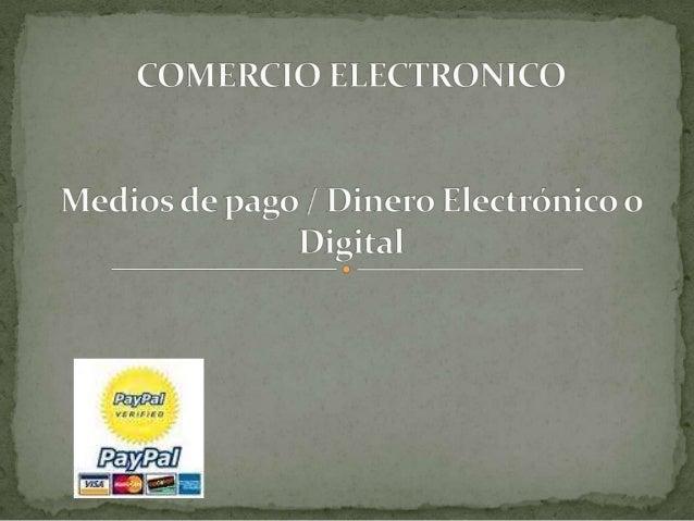  Un sistema de pago electrónico realiza la transferencia del dinero entre comprador y vendedor en una compra-venta electr...